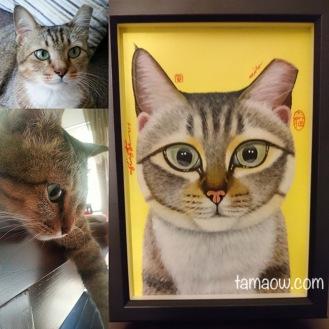 Milo and his portrait