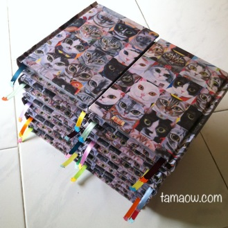 Handmade Book of 50 Meow Project